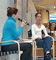 Flavia Bujor interviewed by Anna Baijars cropped.JPG