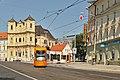 Flexity en Bratislavo, Hurbanovo námestie.jpg