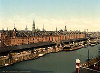 Flickr - …trialsanderrors - Speicherstadt, Hamburg, Germany, ca. 1895.jpg