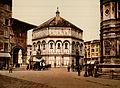 Flickr - …trialsanderrors - The Baptistery, Florence, Tuscany, Italy, ca. 1897.jpg