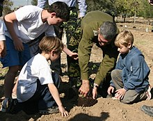 Israel Defense Forces - Planting the First Line of Defense, Jan 2011