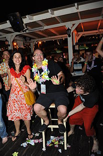 Flickr - Wikimedia Israel - Wikimania 2011 - Beach party (1).jpg
