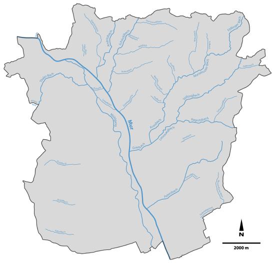 Steiermark Karte Flüsse.Liste Der Fließgewässer In Graz Wikipedia