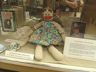 Winnie Ruth Judd - Doll made by Winnie Ruth Judd while imprisoned in the Arizona State Prison.