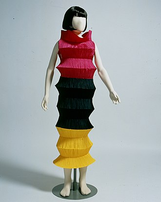 Issey Miyake - 1994 'Flying Saucer' dress. PFF collection.