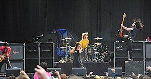 Flyleaf (band) - Flyleaf at Beale Street Music Festival on May 2, 2008.