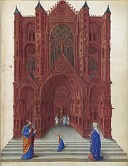 Folio 137r - The Presentation of the Virgin