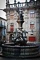 Fonte dos Cabalos en el punto final del Camino de Santiago, Compostela.jpg