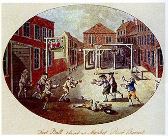 Football - France circa 1750