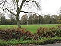 Football pitch adjacent to Itchingfield school - geograph.org.uk - 1591930.jpg
