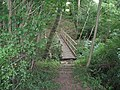Footbridge over The Gill near Broadwater Lane - geograph.org.uk - 1418957.jpg