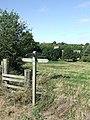 Footpath And Church - geograph.org.uk - 1469571.jpg
