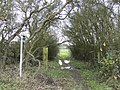 Footpath to Odstone Farm - geograph.org.uk - 306577.jpg
