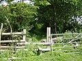 Footpath to St. George's Down - geograph.org.uk - 485490.jpg