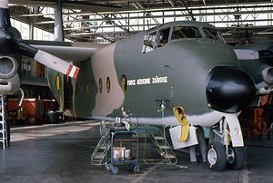 Air Force of the Democratic Republic of the Congo - A de Havilland Canada DHC-5 Buffalo in the markings of the Force Aérienne Zairoise in 1975