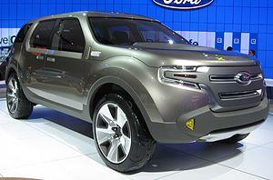 Ford D3 platform - Ford Explorer America (concept car)