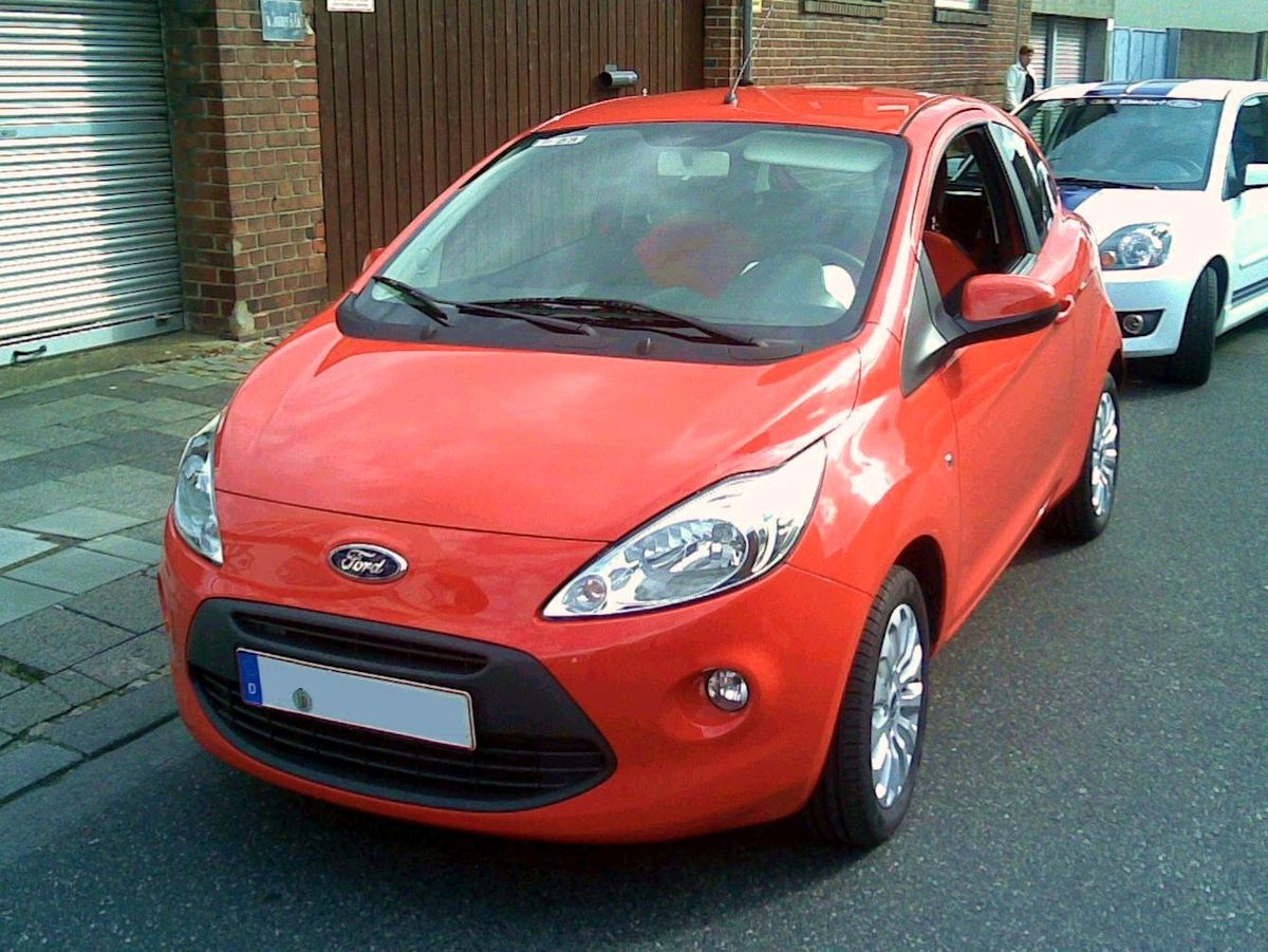 Ford Fiesta Hatchback >> Ford Ka II - Huiquipedia, in yōllōxoxouhqui ...