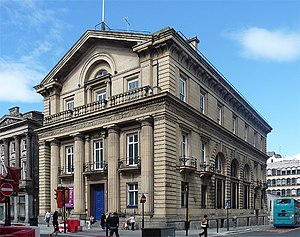 Grade I listed buildings in Merseyside - Image: Former Branch Bank of England, Castle Street, Liverpool (geograph 2847104)