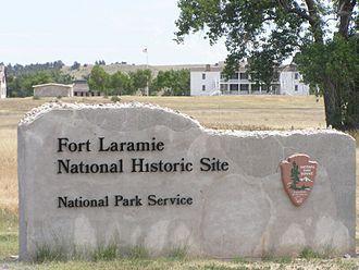 Fort Laramie National Historic Site - Image: Fort Laramie NHS Gate