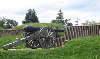 Civil War Defenses of Washington - Fort Stevens today