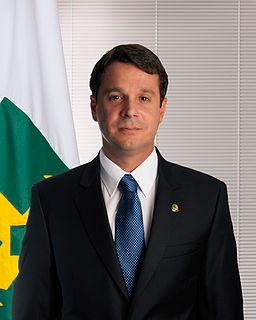 José Reguffe Brazilian economist