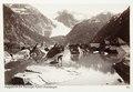 Fotografi av Folgefonden fra Maranger Fjord, Hardanger, Norge - Hallwylska museet - 105720.tif