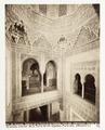 Fotografi av Granada. Alhambra, Interior de la Torre de las Infantas, parte alta - Hallwylska museet - 104839.tif