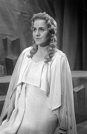 Tiana Lemnitz - Lemnitz as Eurydice in ''Orpheus and Eurydice'' by Christoph Willibald von Gluck