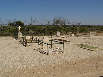 Fowlers Bay, South Australia - Image: Fowlers Bay cemetery