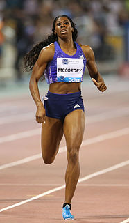 Francena McCorory American sprinter