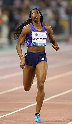Francena McCorory - Francena McCorory in 2015
