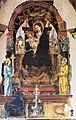 Francesco del Cossa, Madonna con Bambino in trono e angeli, 1472 Santuario di Santa Maria del Baraccano, Bologna.jpg