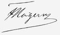 Francis Hagerup signature.png