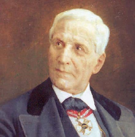 A portrait of Francesco Florimo in later life Francisco Florimo.jpg