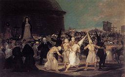 Francisco de Goya y Lucientes - A Procession of Flagellants - WGA10086