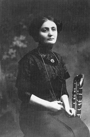 Franciszka Arnsztajnowa - Image: Franciszka Arnsztajnowa, portrait 2