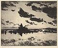 Frank W. Benson, Gunners Blind, 1921.jpg