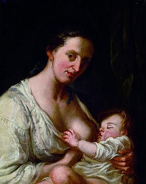Franz Ignaz Oefele - Nursing Mother (1789)