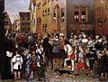 Franz Pforr - The Entry of Emperor Rudolf of Habsburg into Basle - WGA17400.jpg