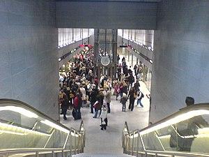 Frederiksberg Station - Image: Frederiksberg Metro Copenhagen