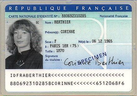 Identity document - Wikiwand