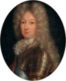 French School - Portrait of a Knight of the Holy Spirit, oval.png