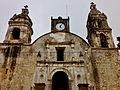 Frente de Templo La Santísima Trinidad, Tepoztlan.JPG