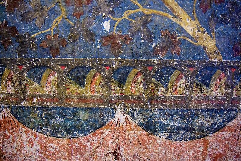 File:Fresques de la chambre de Clément VI.jpg