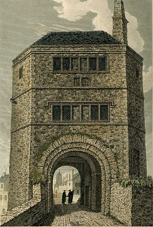 "Folly Bridge - The old ""Friar Bacon's Study""."