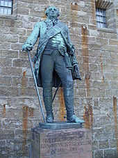 Statue von Friedrich Wilhelm II. auf der Burg Hohenzollern (Quelle: Wikimedia)