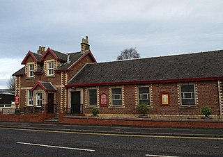 Milngavie town in East Dunbartonshire, Scotland