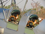Front and rear cockpits of the De Havilland Tiger Moth at Coomalie Creek Airfield during the 2012 Merlin Magic.jpg