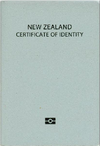 New Zealand Certificate of Identity cover