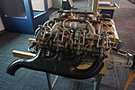 Frontiers of Flight Museum December 2015 104 (Curtiss OX-5 engine).jpg